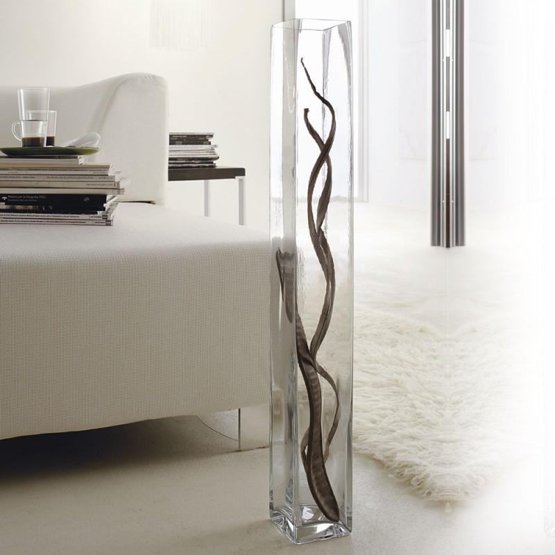 Vaso grande da terra in vetro mobili catalano for Vasi grandi per interni